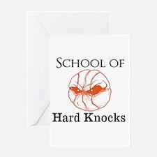 School of Hard Knocks Greeting Cards