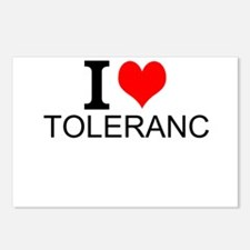 I Love Tolerance Postcards (Package of 8)