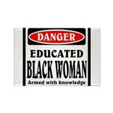 Black woman Magnets