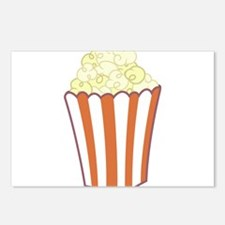 Popcorn Postcards (Package of 8)