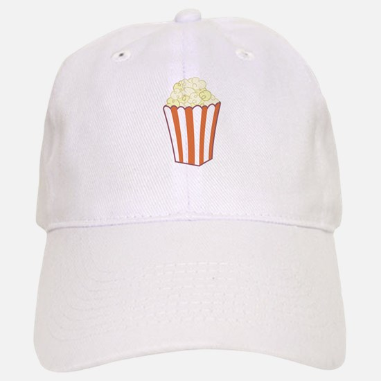 Popcorn Baseball Baseball Cap