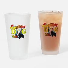 Sheltie Agility Drinking Glass