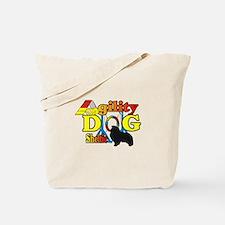 Sheltie Agility Tote Bag