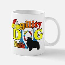 Sheltie Agility Mug