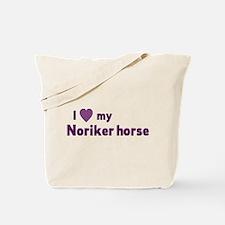 Noriker horse Tote Bag