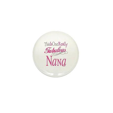 Fabulous Nana Mini Button (10 pack)