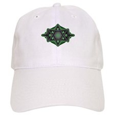 Star of David green & gray Baseball Cap