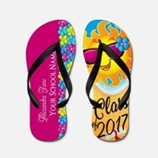 Class Of 2017 Custom Flip Flops