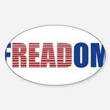 FREADOM Oval Decal