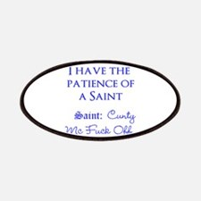 Patience of saint humor Patch