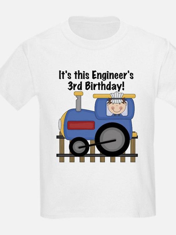 Engineer 3rd Birthday T-Shirt