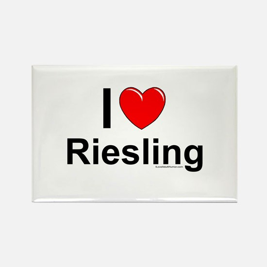 Riesling Rectangle Magnet