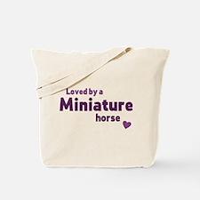 Miniature horse Tote Bag