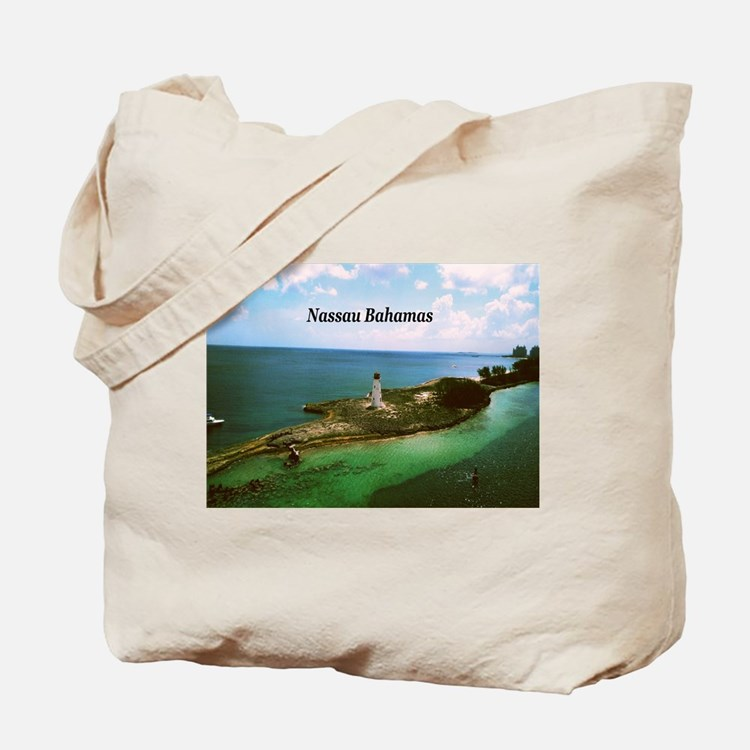 Nassau lighthouse Tote Bag