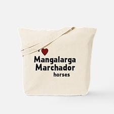 Mangalarga Marchador horses Tote Bag