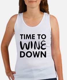 Unique Drinking sayings Women's Tank Top