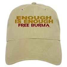 Enough Is Enough (Burma) 1.1 Baseball Cap