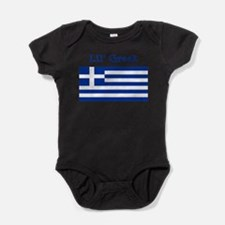 Cute Greek baby Baby Bodysuit