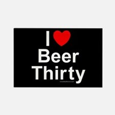 Beer Thirty Rectangle Magnet