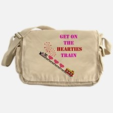 Get on the Heartie Train Messenger Bag
