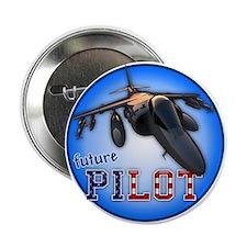 """future pilot (AV-8B) 2.25"""" Button"""