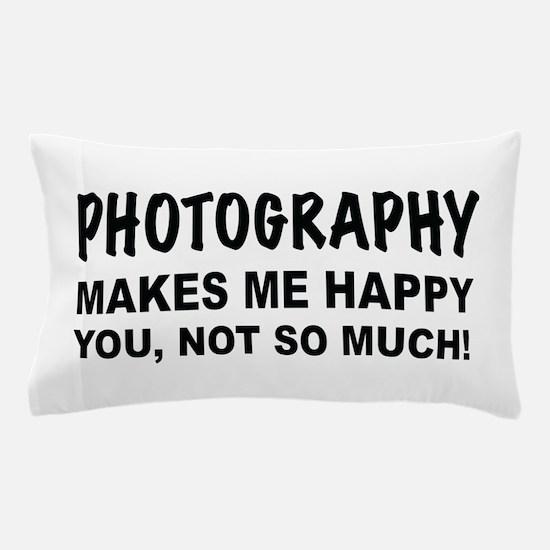 Unique Photographer Pillow Case