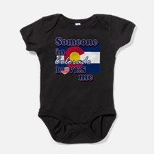 Unique Colorado state Baby Bodysuit