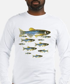 Zebrafish Long Sleeve T-Shirt