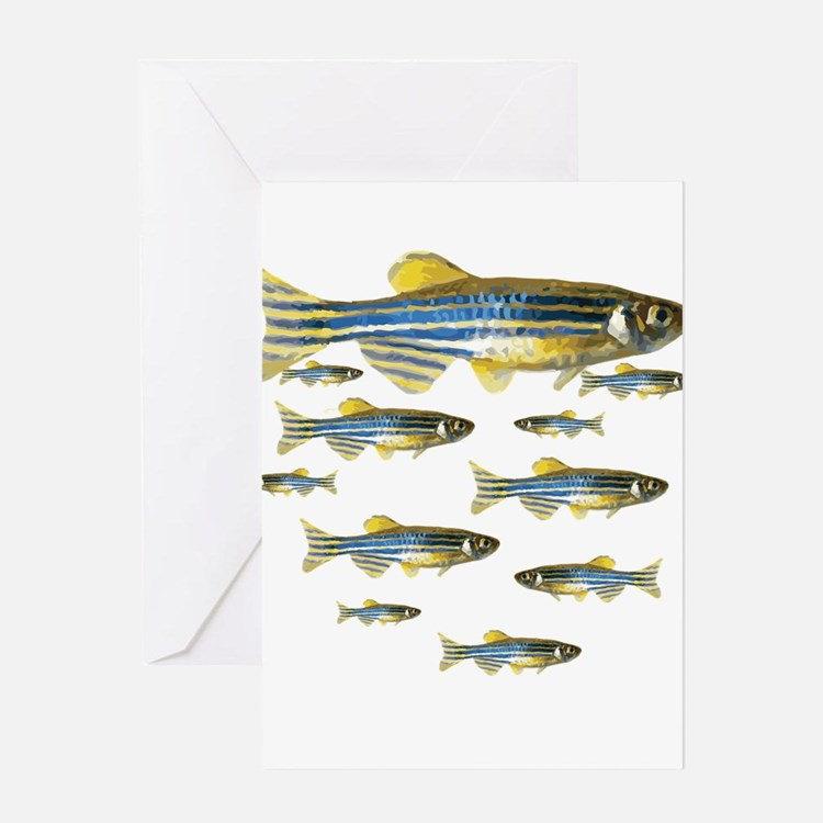 Zebrafish Greeting Cards
