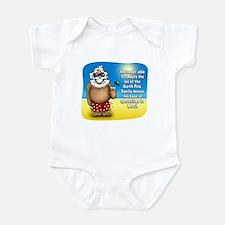 Santa's Relocated! Infant Bodysuit