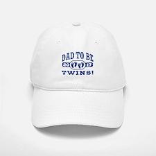 Dad To Be Twins 2017 Baseball Baseball Cap