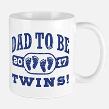 Dad To Be Twins 2017 Mug