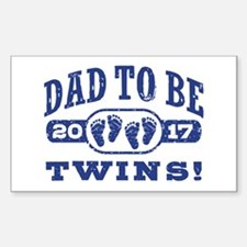 Dad To Be Twins 2017 Decal