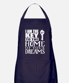 Cute Real estate Apron (dark)