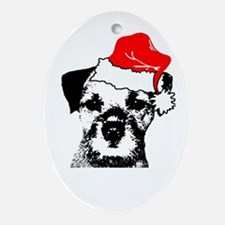 Tony Sez Merry Christmas Oval Ornament