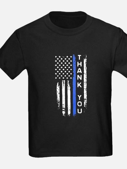 thin blue line thank you T-Shirt