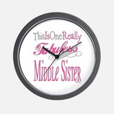 Middle SIster Wall Clock