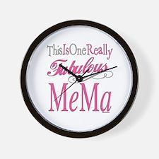 Fabulous Mema Wall Clock