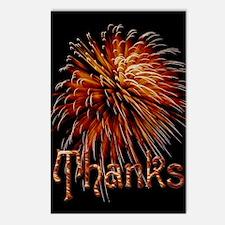 Harvest Moons Fireworks Postcards (package Of 8)