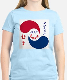 Korea Love T-Shirt