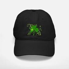 St Paddys Day Fancy Shamrock Baseball Hat