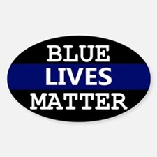 Blue Lives Matter Blue Stripe Decal