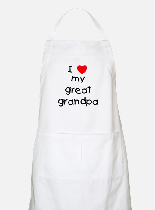 I love my great grandpa Apron