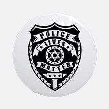 Police Matter Round Ornament