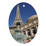 Paris Las Vegas Oval Ornament