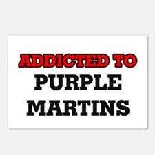Addicted to Purple Martin Postcards (Package of 8)