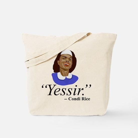 Condi, Bush Houseservant Tote Bag