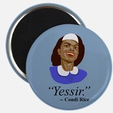 Condi, Bush Houseservant Magnet