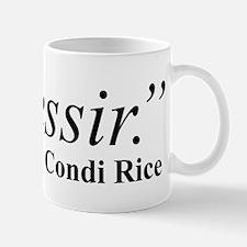 Condi, Bush Houseservant Mug