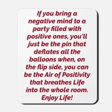 Air of Positivity Mousepad